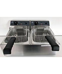 fryer-electric-17L-double